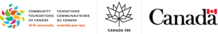 Community Foundations of Canada 150 Grant Program Logo