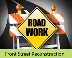 Front Street Reconstruction Logo