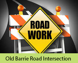 Old Barrie Road Road Intersection Improvement