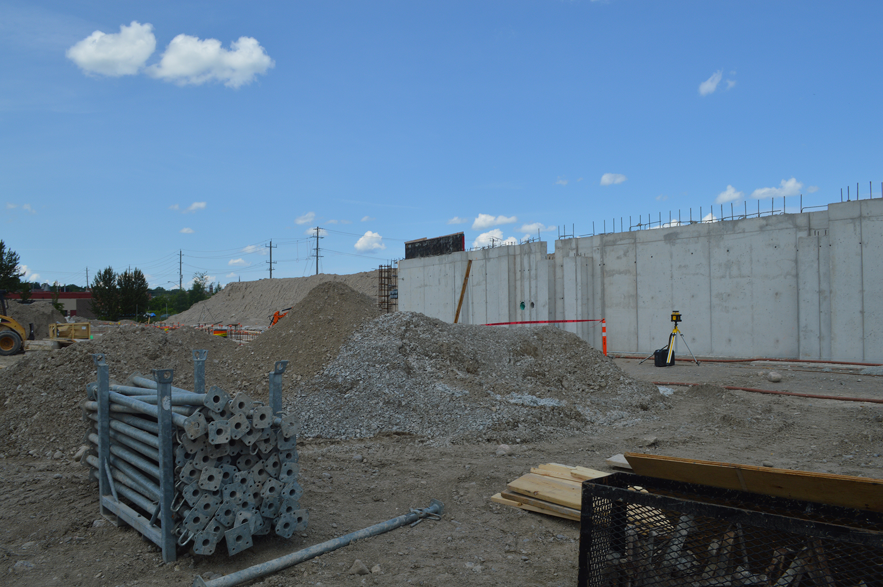 Construction work continues at Recreation Site