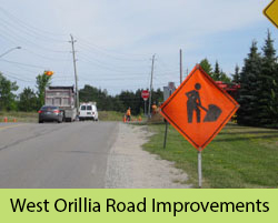 West Orillia Road Improvements