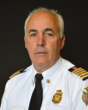 Ralph Dominelli, Orillia Fire Chief