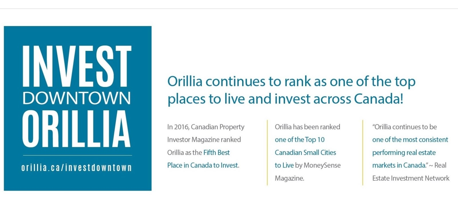 Invest Downtown Orillia