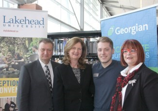 Lakehead and Georgian representatives