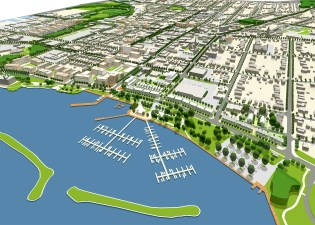 New Waterfront Development Concept