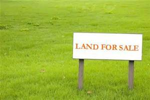 "Sign in a field saying ""Land For Sale"""