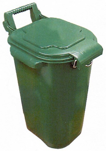 Picture of a green bin