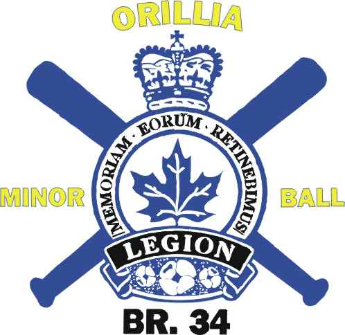Orillia Legion Minor Baseball Logo