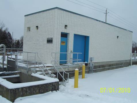 Orillia Wastewater Treatment Centre - another building