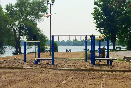 New Playground at Couch