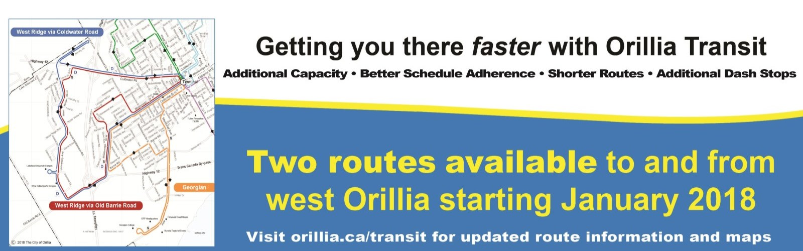 route map & schedules - city of orillia