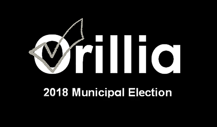 2018 Orillia Municipal Election logo