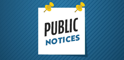 Public Notices bulletin board graphic