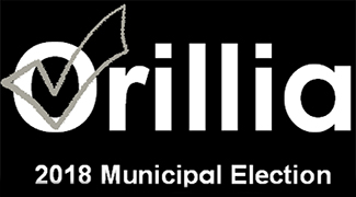 City of Orillia 2018 Municipal Election logo